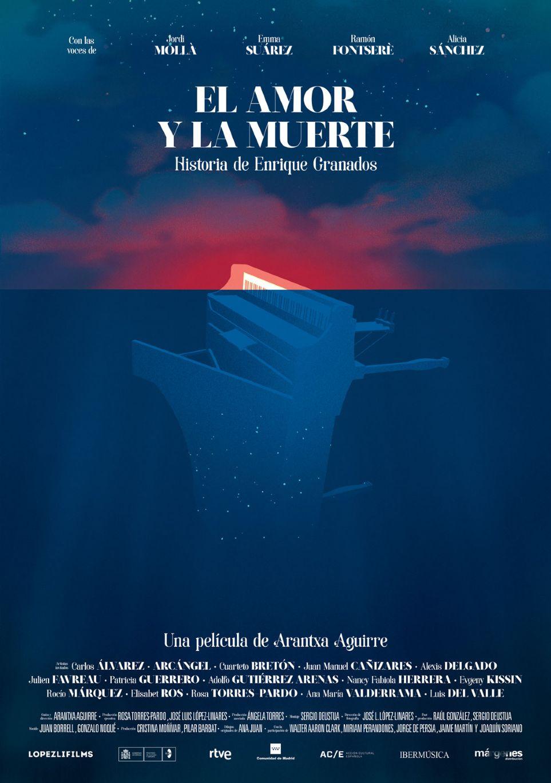 Arantxa Aguirre estrenará en la Seminci de Valladolid «El amor y la  muerte», una película documental sobre Enrique Granados