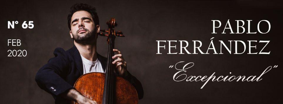 PABLO FERRÁNDEZ, Violonchelista: «Me Siento Músico Las 24