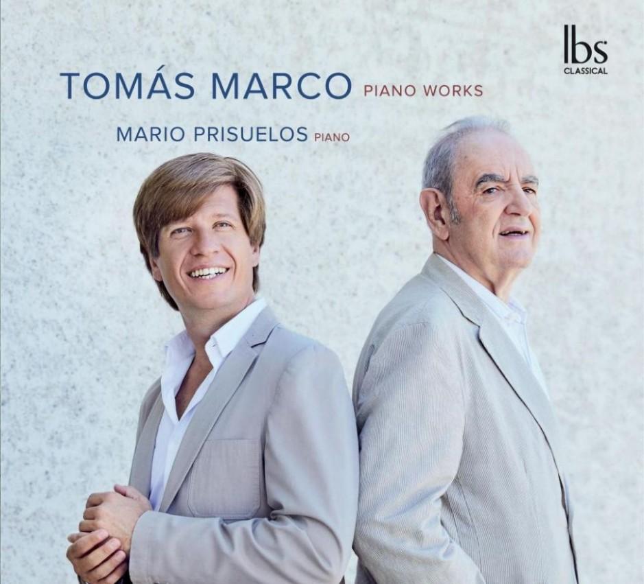CD: Sobre la obra pianística de Tomás Marco grabada por Mario Prisuelos