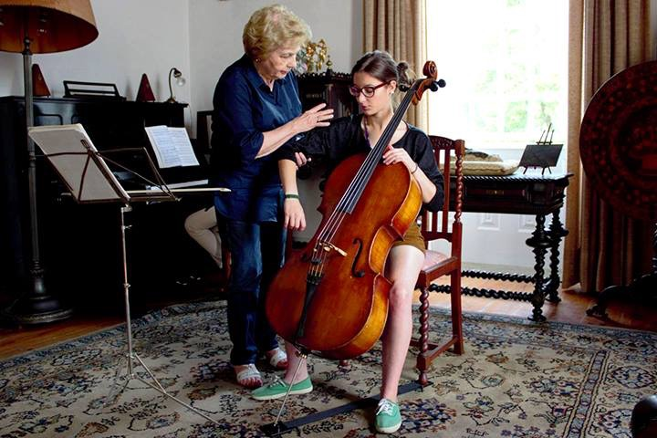 María De Macedo Violonchelista Saber Escuchar Es Aprender